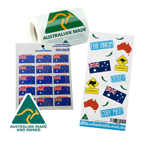 Australian Made Stickers
