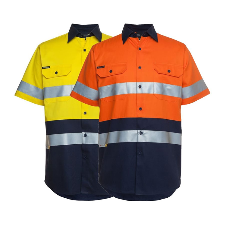 Cotton Drill Work Shirts